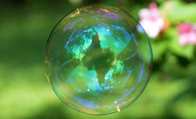 budu v bublině?